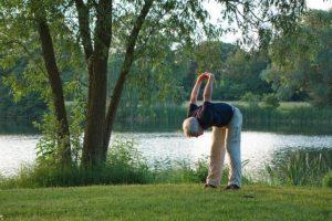 Gewichtsdecke bei Rückenschmerzen